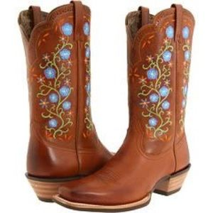 Ariat Uptown Floral Boots